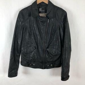 Anthro Kut from Kloth Black Moto Jacket size Large